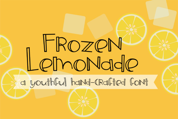 Print on Demand: ZP Frozen Lemonade Script & Handwritten Font By Illustration Ink