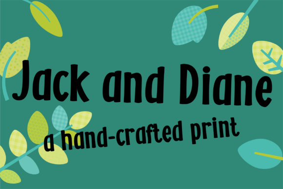 Print on Demand: ZP Jack and Diane Script & Handwritten Font By Illustration Ink