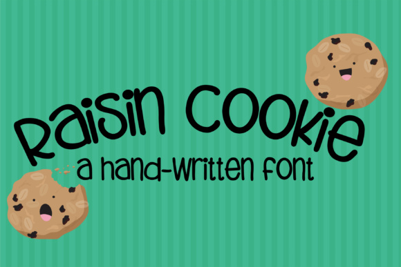 Print on Demand: ZP Raisin Cookie Sans Serif Font By Illustration Ink