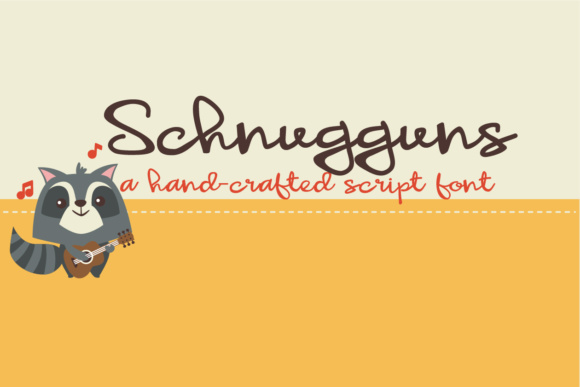 Print on Demand: ZP Schnugguns Script & Handwritten Font By Illustration Ink