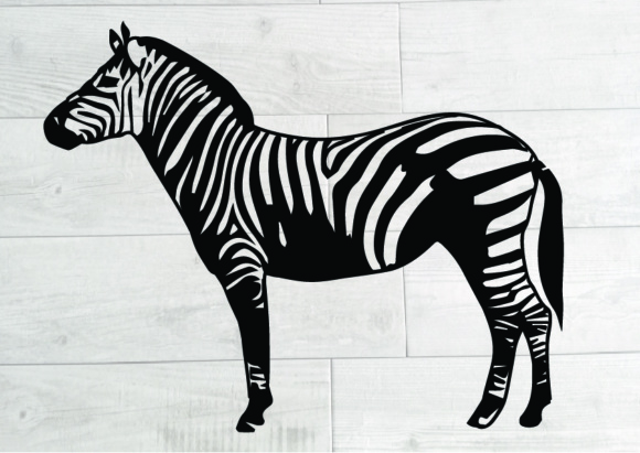Download Free Zebra Animal Wild Africa Graphic By Alabala Creative Fabrica for Cricut Explore, Silhouette and other cutting machines.