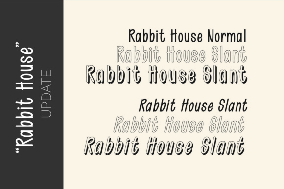Print on Demand: Rabbit House Dingbats Font By 38.lineart - Image 2