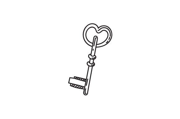 Download Free Key With Heart Svg Svg Cut File By Creative Fabrica Crafts for Cricut Explore, Silhouette and other cutting machines.