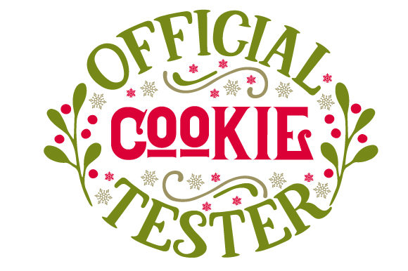 Official Cookie Tester Craft Design von Creative Fabrica Crafts