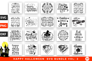 Download Free 20 Halloween Bundle Grafico Por Designfarm Creative Fabrica for Cricut Explore, Silhouette and other cutting machines.