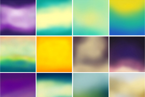 48 Blurred Color Backgrounds Graphic Backgrounds By Yurlick - Image 4