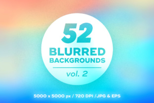 52 Colorful Blurred Backgrounds Graphic By Yurlick