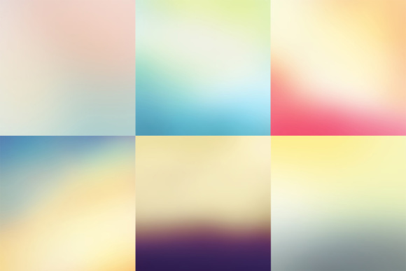 52 Colorful Blurred Backgrounds Graphic Preview