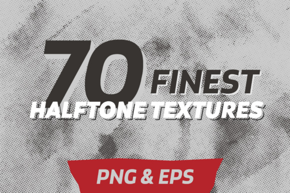 70 Halftone Textures Pack Graphic By Yurlick