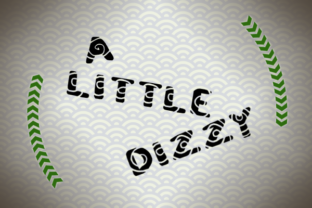 A Little Dizzy Font By Marlee Pagels