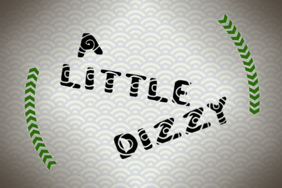 Print on Demand: A Little Dizzy Display Font By Marlee Pagels