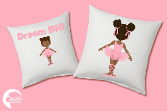 Aa Ballerina Sisters Clipart Graphic Illustrations By AMBillustrations - Image 3