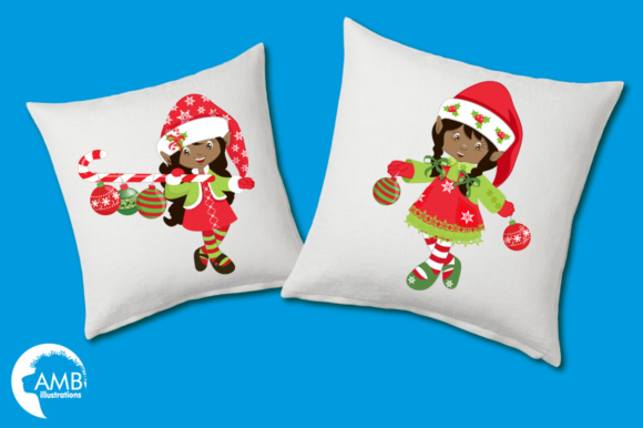 Download Free Aa Xmas Elves Clipart Graphic By Ambillustrations Creative Fabrica for Cricut Explore, Silhouette and other cutting machines.