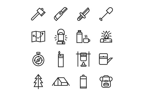 Adventure Icons Graphic Icons By Goodware.Std