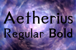 Aetherius Serif Font By Daymarius