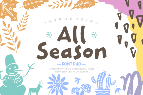 Print on Demand: All Season Script & Handwritten Font By Keithzo (7NTypes)