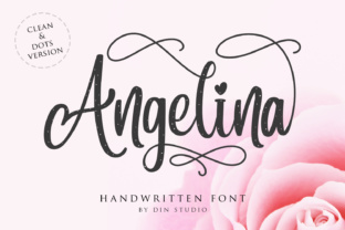 Angelina Font By Din Studio