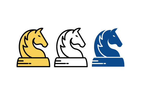 Animal Horse Head Chess Vector Graphic Logos By hartgraphic