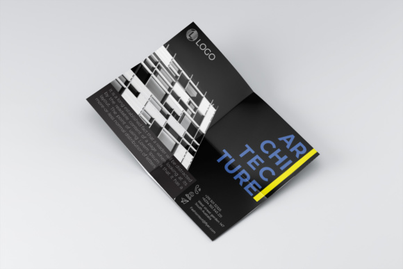 Architecture Flyer Building Graphic Print Templates By harizandy