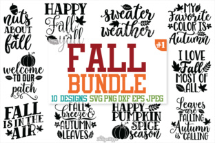Autumn Fall SVG Bundle Graphic By thedesignhippo