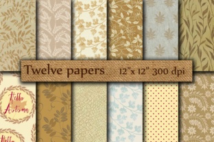 Autumn Papers Graphic By twelvepapers