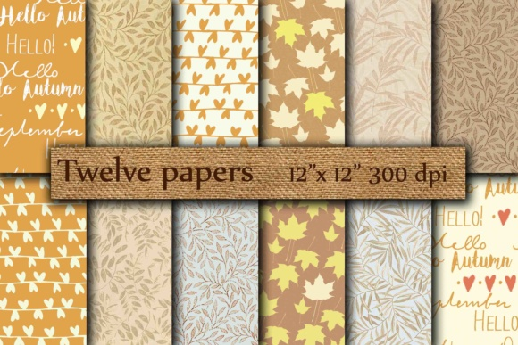 Autumn Papers Graphic Backgrounds By twelvepapers
