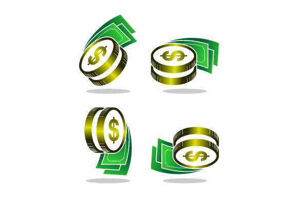 Download Free Awesome Money Dollar Vector Logo Graphic By Hartgraphic for Cricut Explore, Silhouette and other cutting machines.