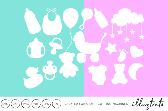 Print on Demand: Baby Files Graphic Crafts By illuztrate