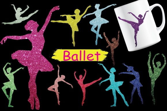 Ballet Clipart Graphic Crafts By Paper switch
