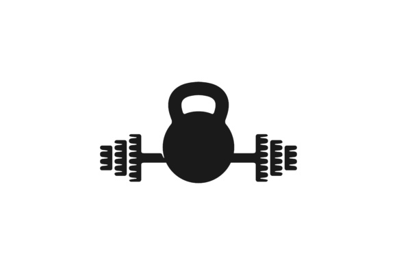 Download Free Barbel Gym Dumbbell Fitness Logo Designs Inspiration Vector for Cricut Explore, Silhouette and other cutting machines.