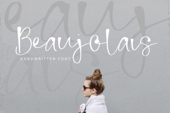 Print on Demand: Beaujolais Script & Handwritten Font By PaulaType