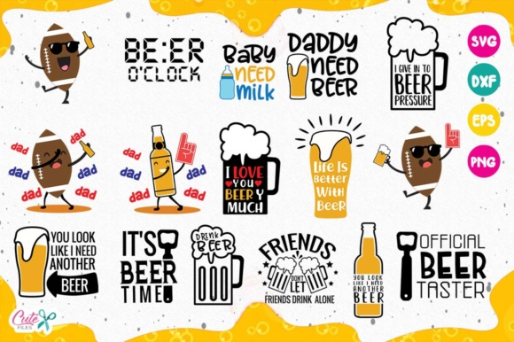 Funny Beer Sayings SVG Bundle