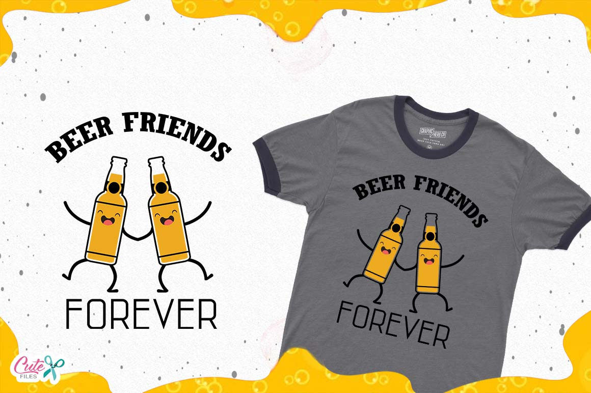Download Free Beer Friends Forever Beer Sayings S Beer Humor Svg Files for Cricut Explore, Silhouette and other cutting machines.