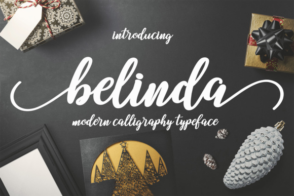 Print on Demand: Belinda Script Script & Handwritten Font By Mrletters