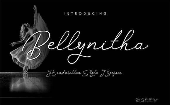 Print on Demand: Bellynitha Script & Handwritten Font By victoriant99