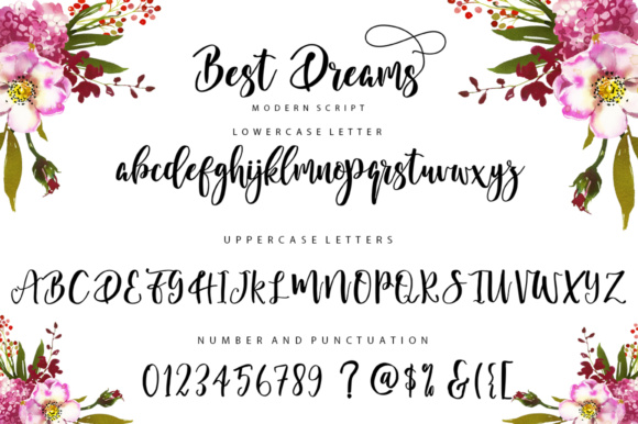 Best Dreams Font By luckytype.font Image 11