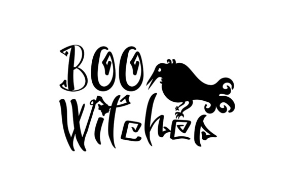 Boo Witches   Graphic Crafts By Illustrator Guru