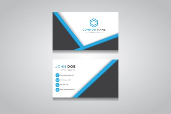 Business Card Template Creative Graphics