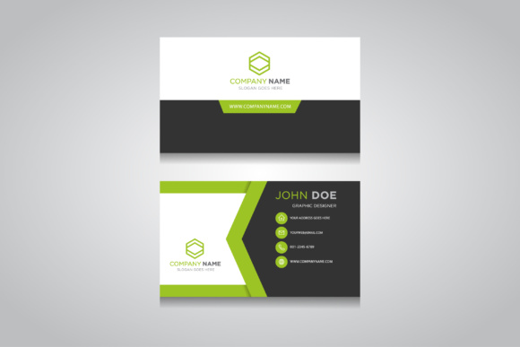 Business Card Template. Creative Business Card Graphic Graphic Templates By anasofart