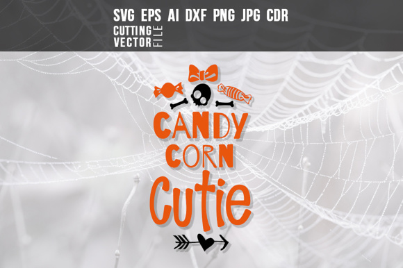 Download Free Candy Corn Cutie Graphic By Danieladoychinovashop Creative Fabrica for Cricut Explore, Silhouette and other cutting machines.