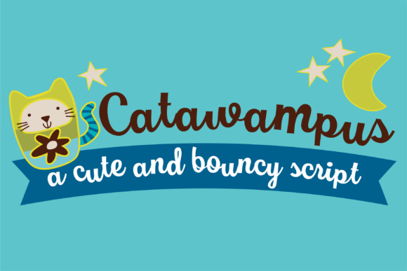 Print on Demand: Catawampus Script & Handwritten Font By Illustration Ink