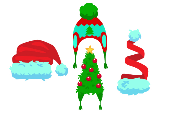 Download Free Set Of 4 Christmas Hats Svg Cut File By Creative Fabrica Crafts for Cricut Explore, Silhouette and other cutting machines.