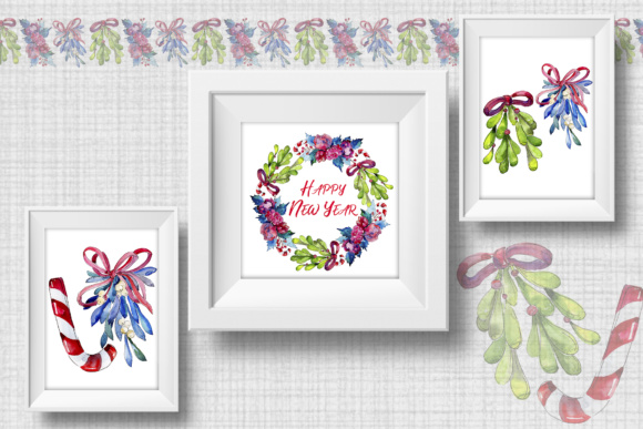 Print on Demand: Christmas Winter Holiday PNG Watercolor Set Graphic Illustrations By MyStocks - Image 7