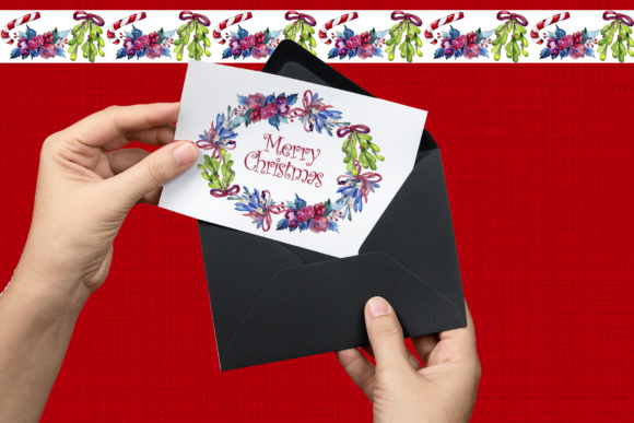 Print on Demand: Christmas Winter Holiday PNG Watercolor Set Graphic Illustrations By MyStocks - Image 8