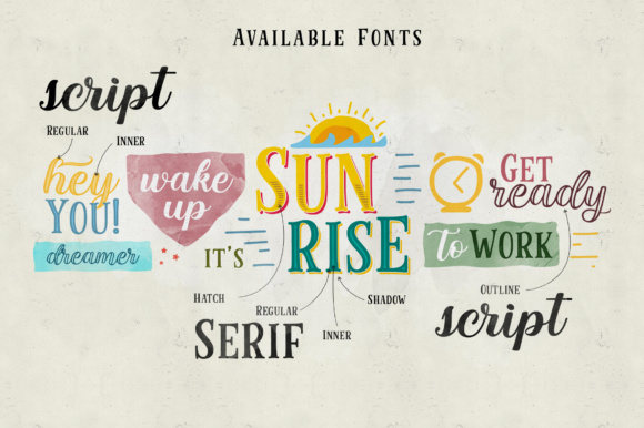 Cinnamon Peaches Family Font By abbasystudio Image 2