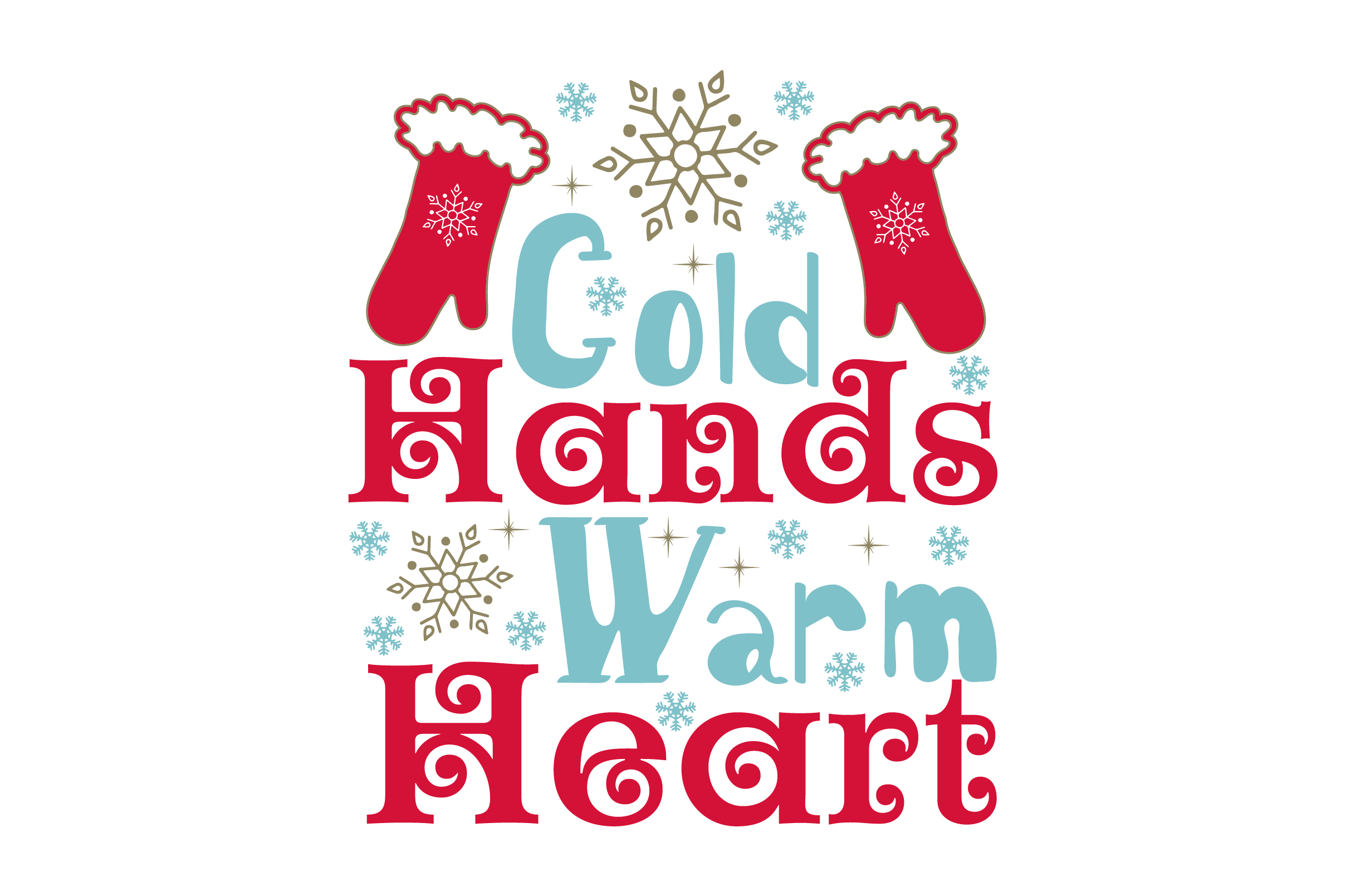 Download Free Cold Hands Warm Heart Svg Cut File By Creative Fabrica Crafts for Cricut Explore, Silhouette and other cutting machines.