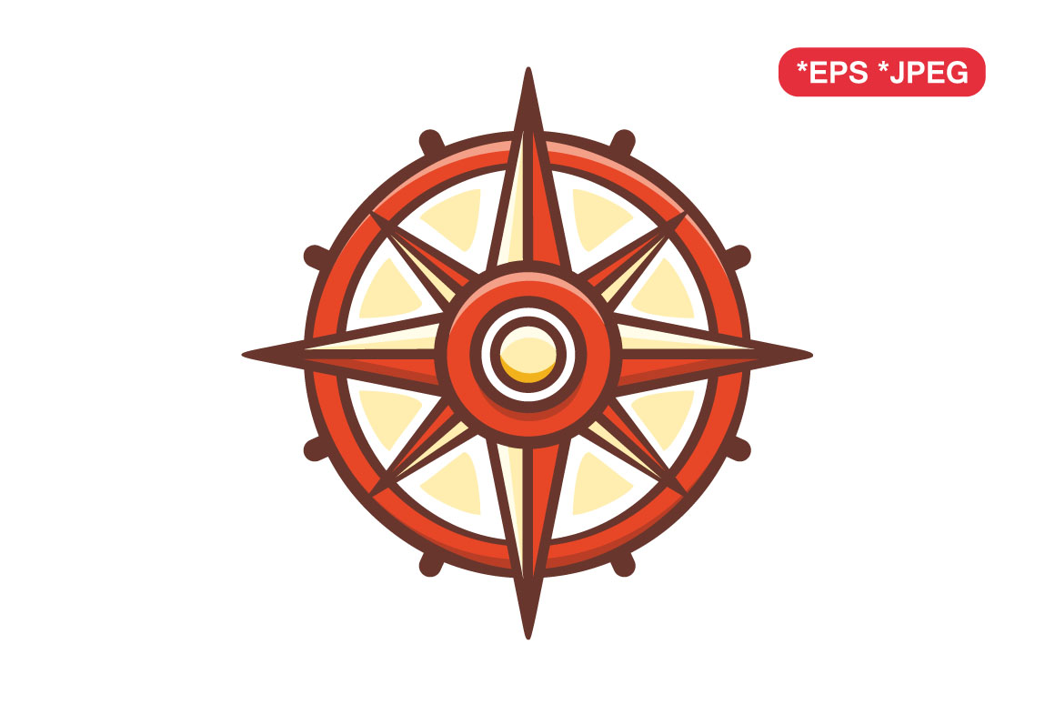 Download Free Compass Children S Toy Graphic By Zoyali Creative Fabrica for Cricut Explore, Silhouette and other cutting machines.