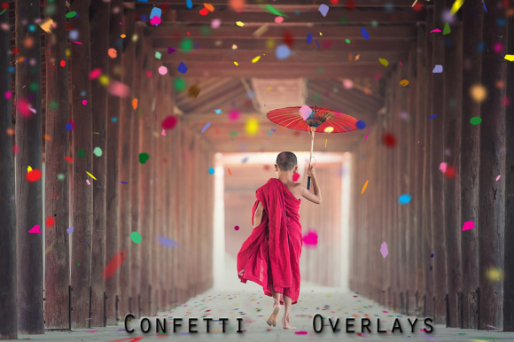 Download Free Confetti Overlays Vol 1 Graphic By Pandoradreams Creative Fabrica for Cricut Explore, Silhouette and other cutting machines.