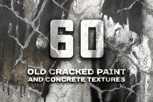 Cracked Paint and Concrete Wall Photo Textures Graphic Textures By Yurlick