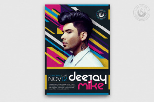 DJ Guest Flyer Template V5 Graphic By ThatsDesignStore